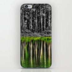 Forest reflection iPhone & iPod Skin