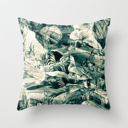 """""""Black Wings 9"""" Cadets Trial"""" Throw Pillow"""
