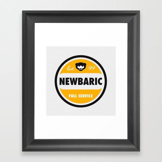 NEWBARIC SINCE '99 Framed Art Print