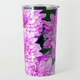 Beautiful Pink Flowers Travel Mug