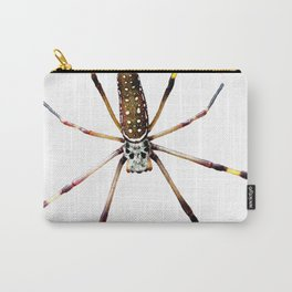 Watercolor Graphic 11, Spider Crawl, Golden Orb-weaver Snow Carry-All Pouch