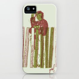 Billygoat with a blowtorch iPhone Case