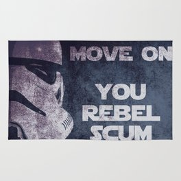 Storm Trooper Grunge Move Out Rug