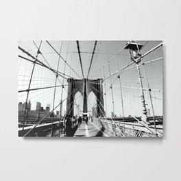 No Sleep 'Til Brooklyn Metal Print