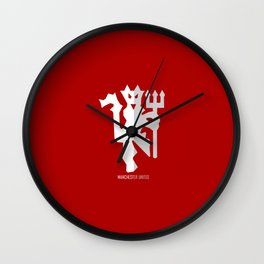 The Red Devils Wall Clock