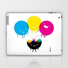 CMY piss K Laptop & iPad Skin