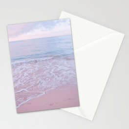 calm day 02 ver.pink Stationery Cards