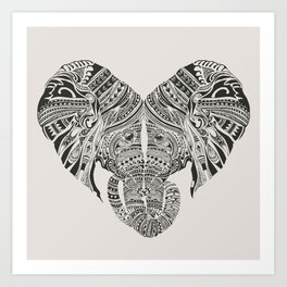 Huge Heart Art Print