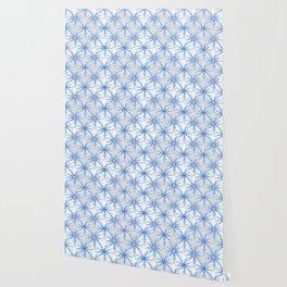 Snow Flakes Design Wallpaper