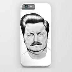 Ron Swanson iPhone 6 Slim Case