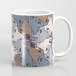 Frenchie Yoga Tessellations Coffee Mug