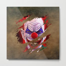 Clown 09 Metal Print