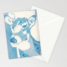 Deerest Blue Stationery Cards