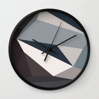 urban Wall Clocks featuring Urban by Deadly Designer