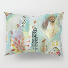 """""""Liminal Rights"""" Original Painting by Flora Bowley Pillow Sham"""