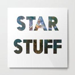 STAR STUFF Metal Print