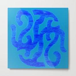 Abstract Designz - 4 Metal Print