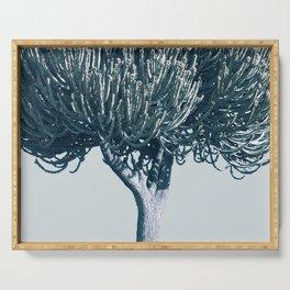 Monochrome - Candelabra tree Serving Tray