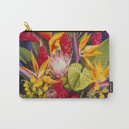 Tropical Arrangement #2 Carry-All Pouch