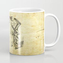 Have I gone mad? Alice in Wonderland Quote Coffee Mug