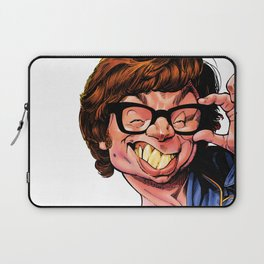 Austin Power, Mike Myers, color Laptop Sleeve