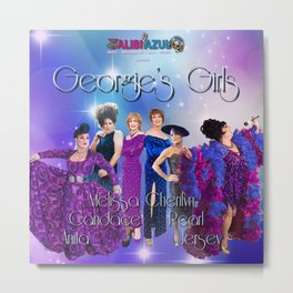Georgie's Girls Metal Print