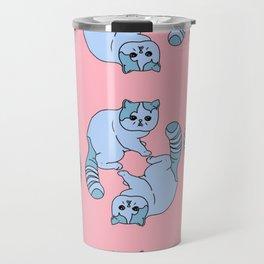 Playful Kittens, 2014. Travel Mug