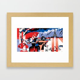 The World Since 9/11 Framed Art Print