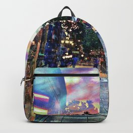 antagonistic by rote and duplicitous by conviction Backpack