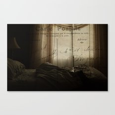 Waking up in Paris Canvas Print