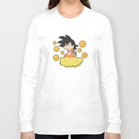 goku Long Sleeve T-shirts featuring Goku by CmOrigins