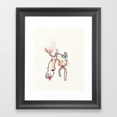 End is a bad word Framed Art Print