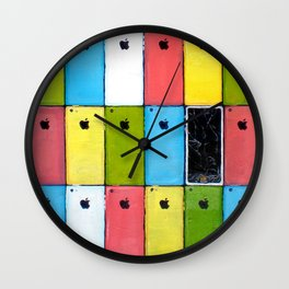 Introducing the New iPhone5c Wall Clock