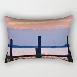 layers of amelia Rectangular Pillow