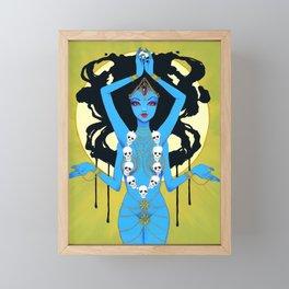 Kali Framed Mini Art Print