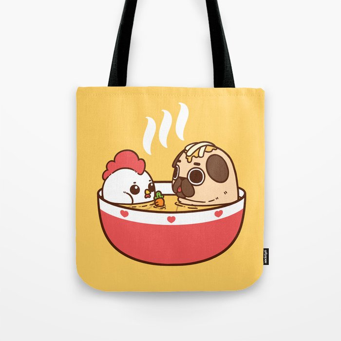 Chicken Noodle Puglie Soup Tote Bag