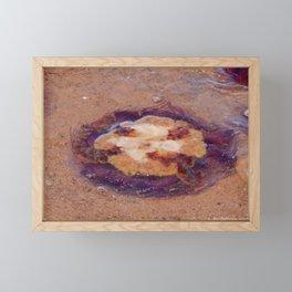 Jellyfish upside down Framed Mini Art Print