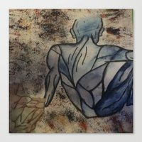 anatomy Canvas Prints featuring Anatomy  by Crimson-daisies