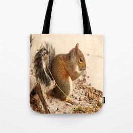 Squirrels Meal Tote Bag