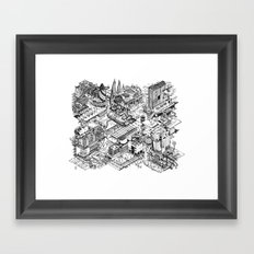 ARUP Fantasy Architecture Framed Art Print