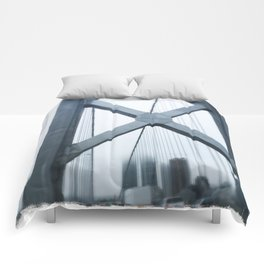 City in the Clouds- San Francisco  Comforters