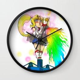 Sailor Mastodon Attack! Wall Clock