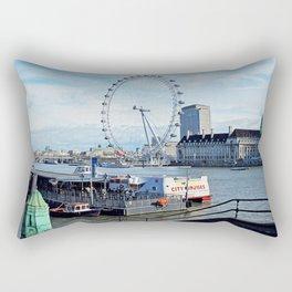 London Eye View Rectangular Pillow