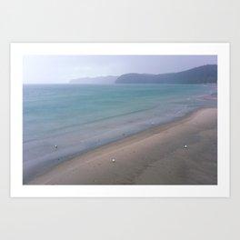 North Sea in Winter Art Print
