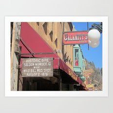 Deadwood, SD Art Print