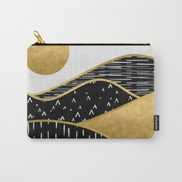Gold Sun Carry-All Pouch