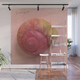 Bocot Magic Pink Snail Wall Mural