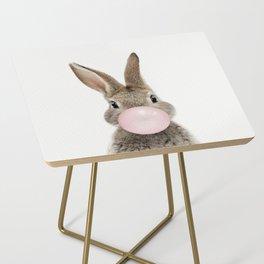 Bubble Gum Bunny Side Table