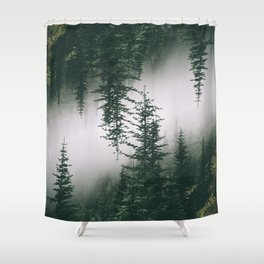 Forest Reflections XV Shower Curtain