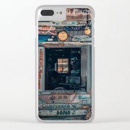 Cafe Bahamas decoration Clear iPhone Case